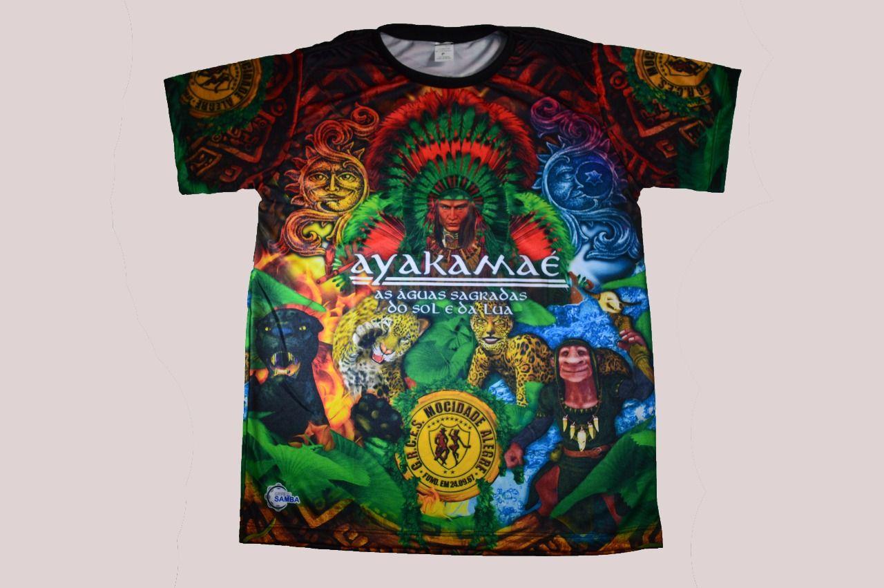 Camiseta Ayakamaé - Carnaval 2019  - Mocidade Alegre