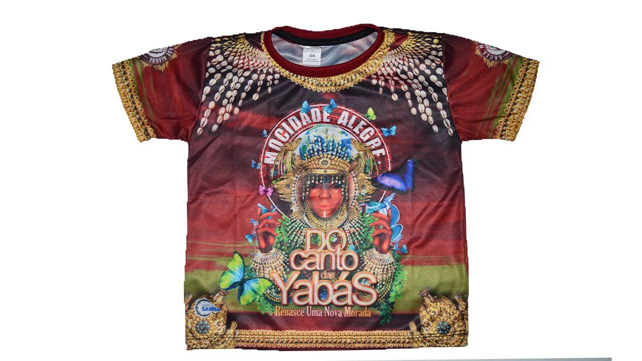 Camiseta  Carnaval 2020 - Do Canto das Yabás...  - Mocidade Alegre