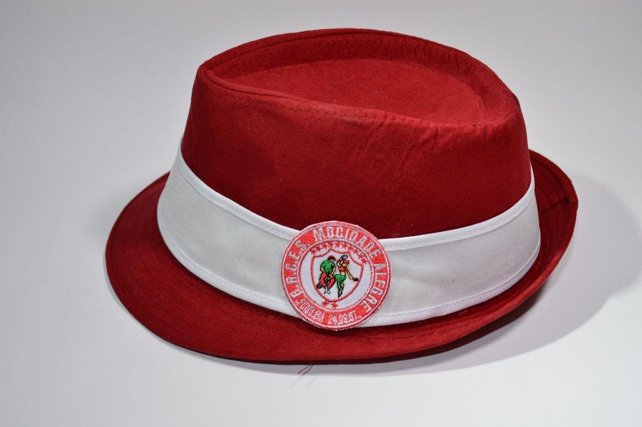 Chapéu Vermelho - tipo Panamá logo Mocidade Alegre  - Mocidade Alegre
