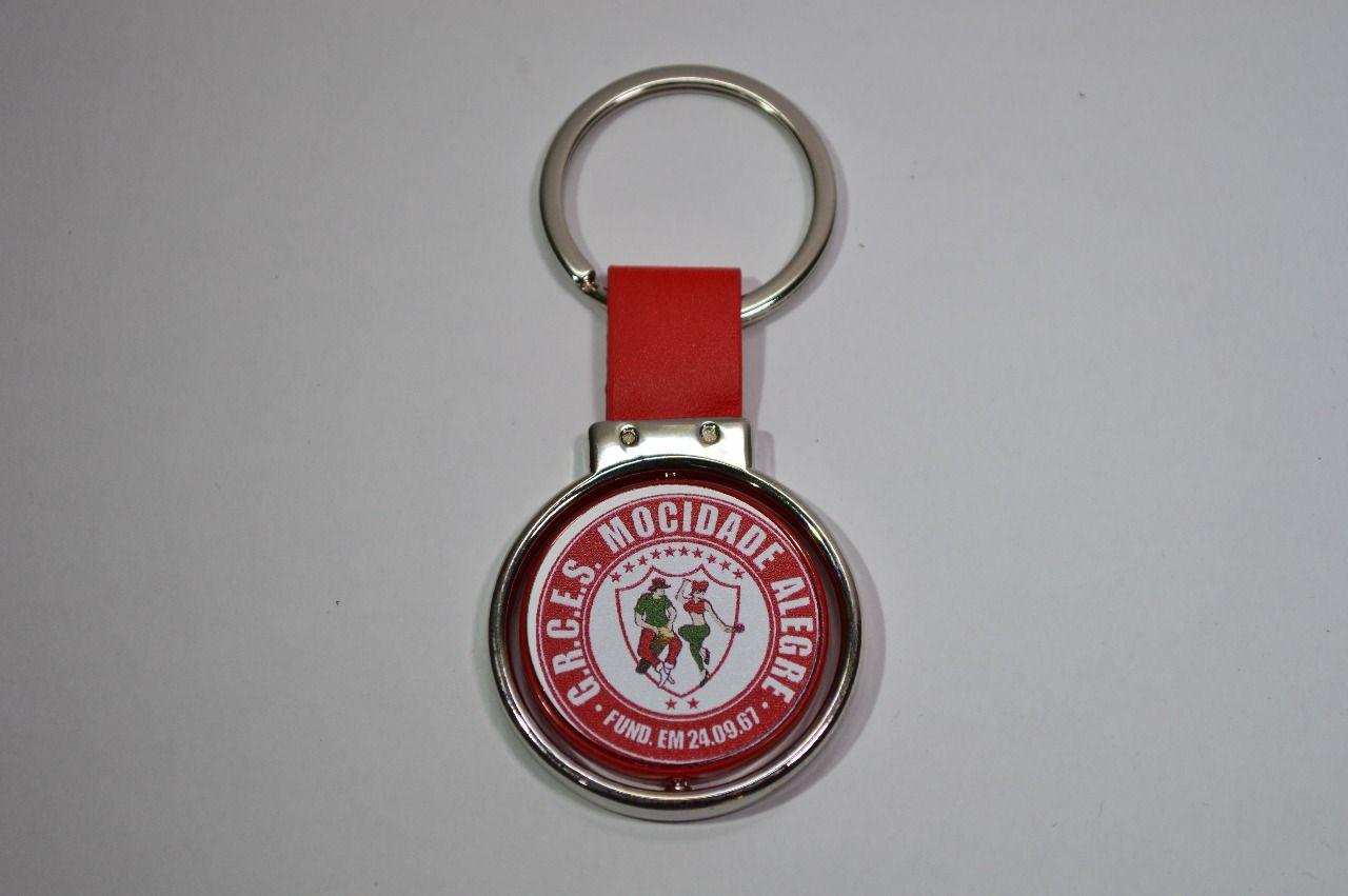 Chaveiro Logo Mocidade com alça vermelha  - Mocidade Alegre