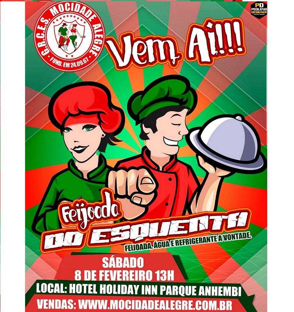 FEIJOADA ESQUENTA 2020 - 08/02/2020  - Mocidade Alegre