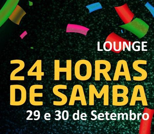 LOUNGE - 24 HORAS DE SAMBA 2018  - Mocidade Alegre