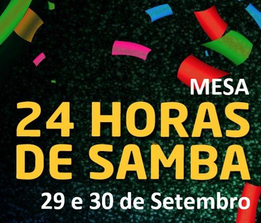 MESAS - 24 HORAS DE SAMBA 2018 ( LADO BARES )  - Mocidade Alegre