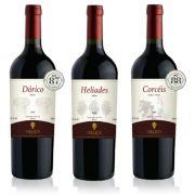 3 Garrafas: Dórico - Helíades - Corcéis