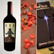 NDN - MALBEC 2013 com chocolate Noir com pimenta rosa