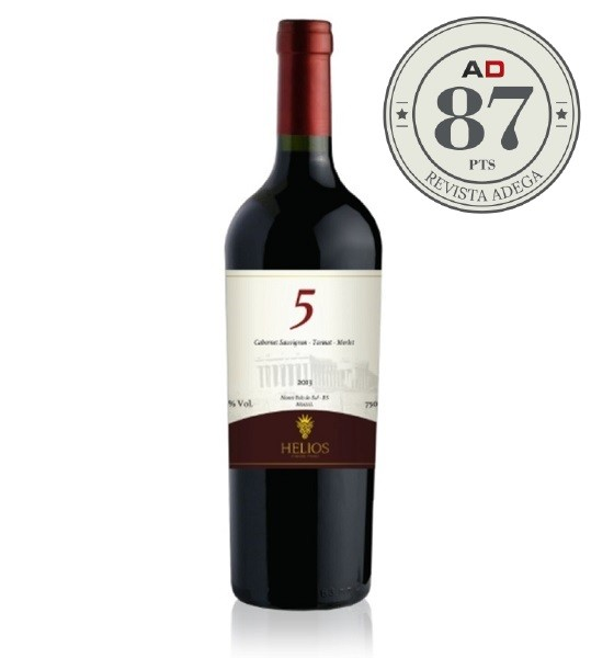 Cabernet Sauvignon - Trivarietal + AFETO  - Vinícola Helios