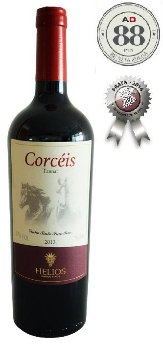 Corcéis - Tannat - safra 2013  - Vinícola Helios