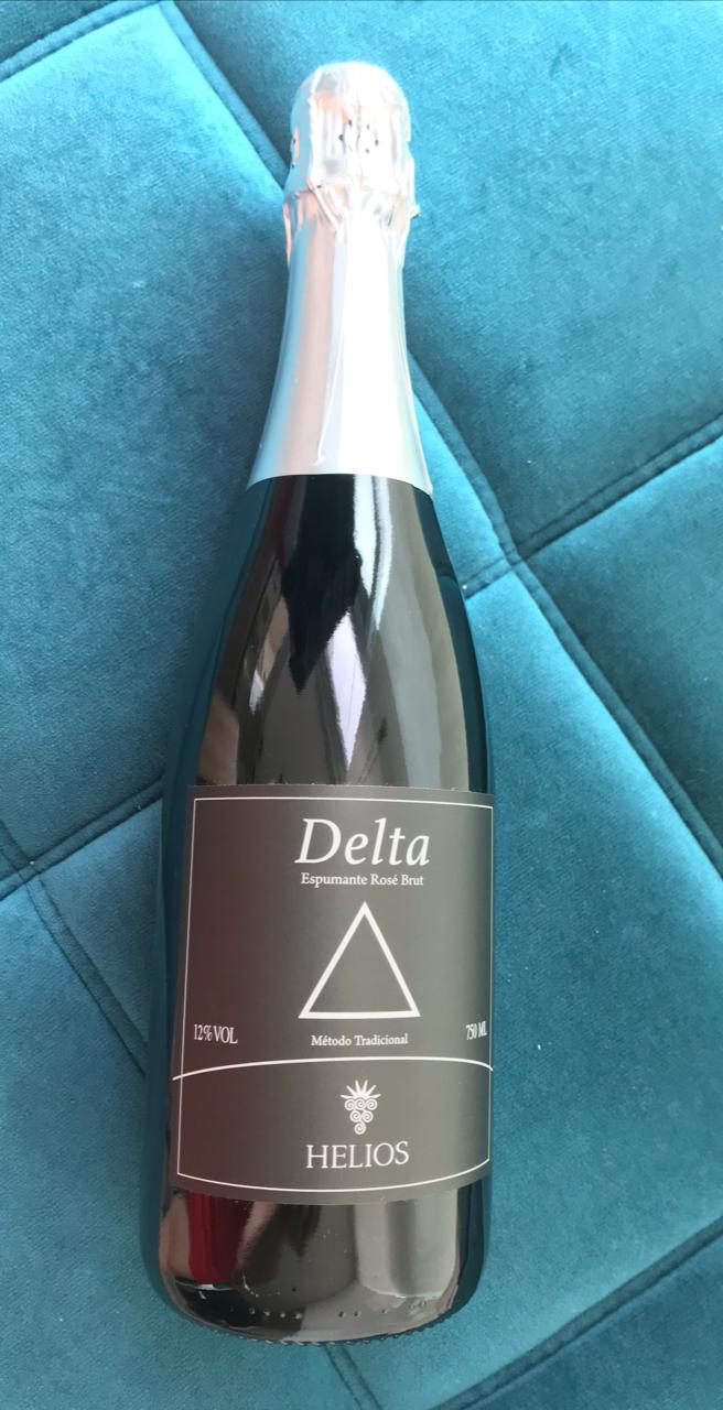 Promoçao - LEVE 3 PAGUE 2 - Delta - Espumante Rosé Brut  - Vinícola Helios