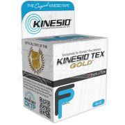 Kinesio Tex Gold Azul - Bandagem Elástica Terapêutica: 5 cm X 5 metros