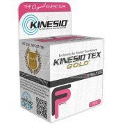 Kinesio Tex Gold Rosa - Bandagem Elástica Terapêutica: 5 cm X 5 metros