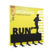 Mini Porta Medalhas - Corrida
