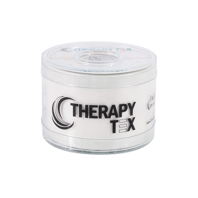 Therapy Tex Branca - Bandagem Elástica Terapêutica: 5 cm X 5 metros