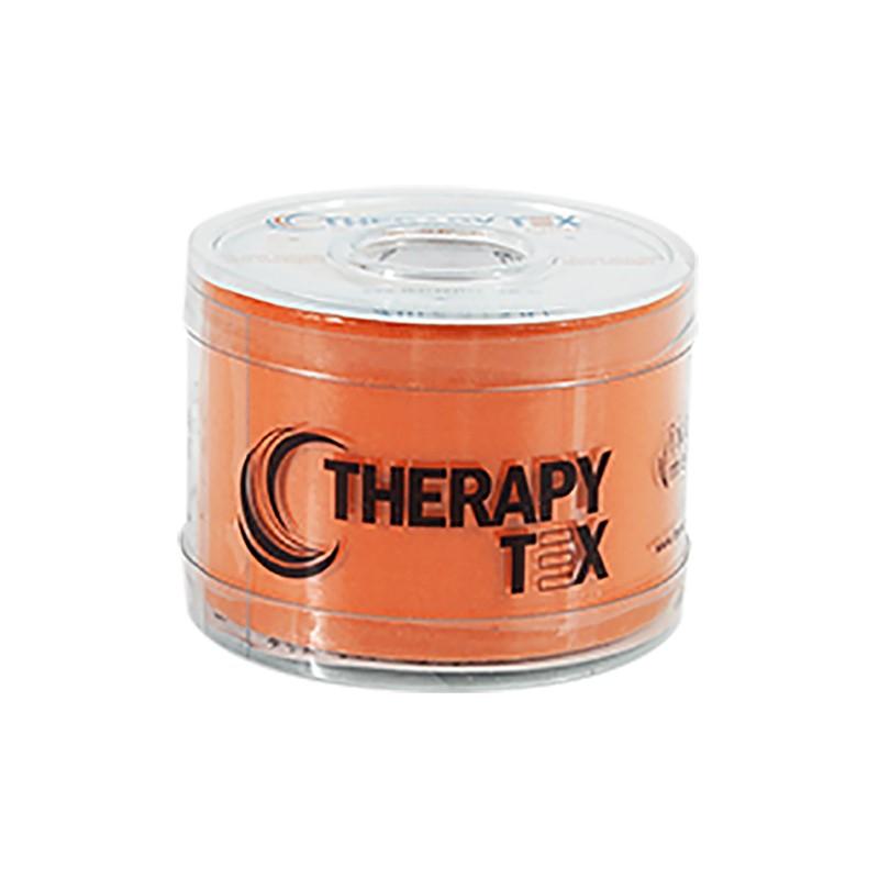 Therapy Tex Laranja - Bandagem Elástica Terapêutica: 5 cm X 5 metros
