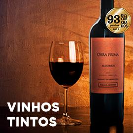 conheça os nossos vinhos tintos