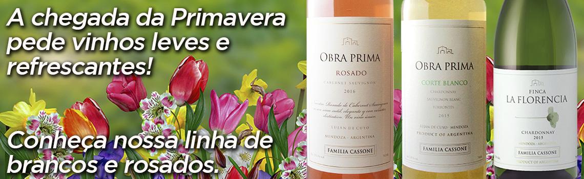 Conheça nossos vinhos para a primavera!