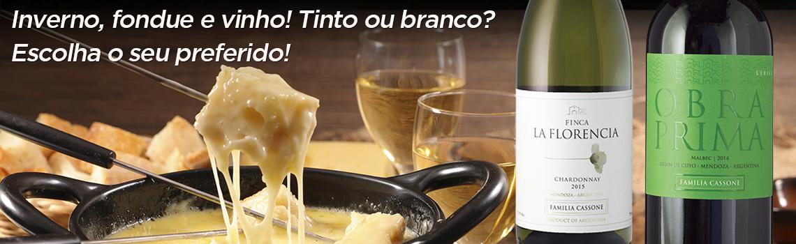 vinhos para fondue