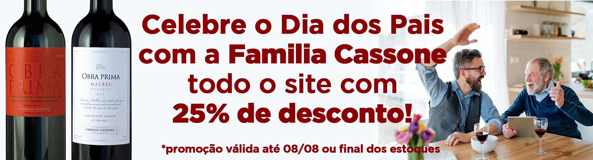 Dia dos Pais Familia Cassone