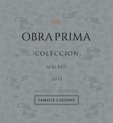 Obra Prima Gran Reserva Colección   Malbec  2015