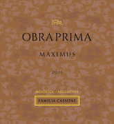 Obra Prima  Gran Reserva Maximus  2014