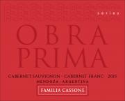Obra Prima Series Red Reserva 2017