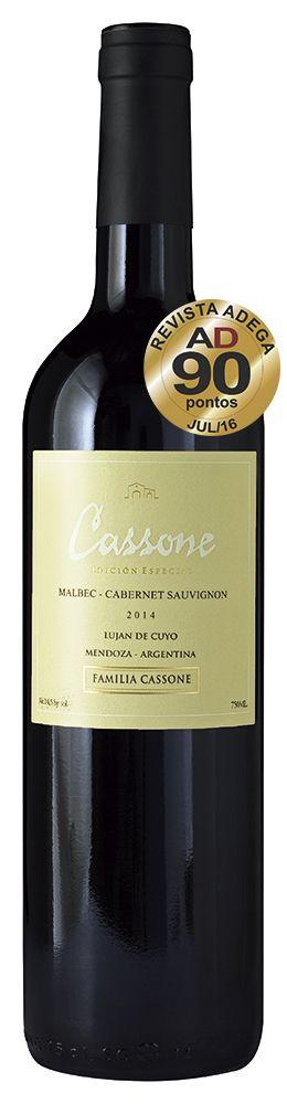 Cassone Edición Especial Malbec-Cabernet Sauvignon 2018  - Familia Cassone
