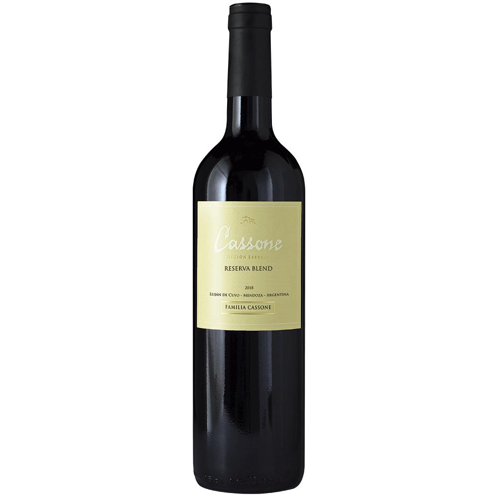 Cassone Edición Especial Reserva Blend, 2018  - Familia Cassone