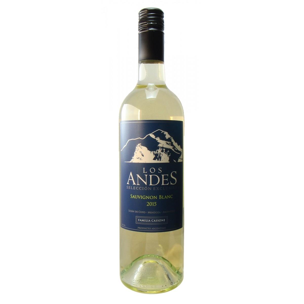 Los Andes Selección Exclusiva Sauvignon Blanc 2015   - Familia Cassone