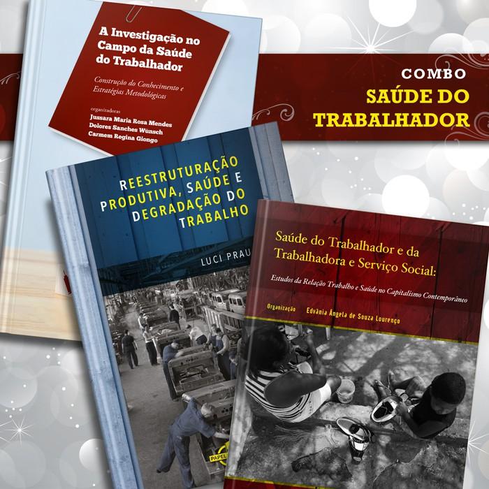 Combo Saúde do Trabalhador  - Editora Papel Social