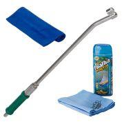 Esguicho para mangueira Jet Garden 02 bicos + toalha mágica + toalha microfibra