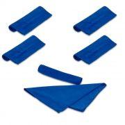 Kit 5 Toalha Microfibra 40x30 Cm Limpeza Automotiva e Multiuso