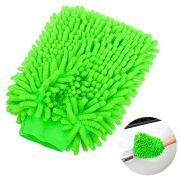 Luva Microfibra Para Lavar Carro Cores Sortidas