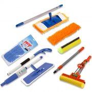 Rodo Mágico, Spray Mop,  Mop tira Pó c/ 1 kit de refil extra