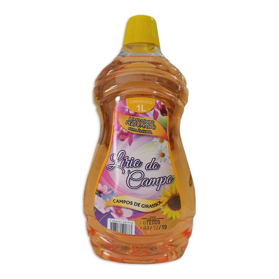 Álcool Perfumado Lírio do Campo Girassol 1 Lt