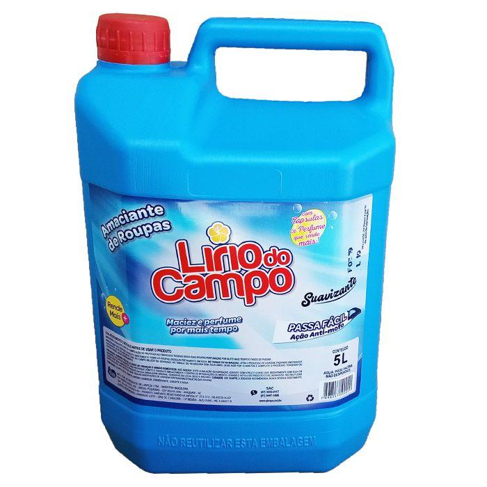 Amaciante de Roupas 5 litros anti-mofo