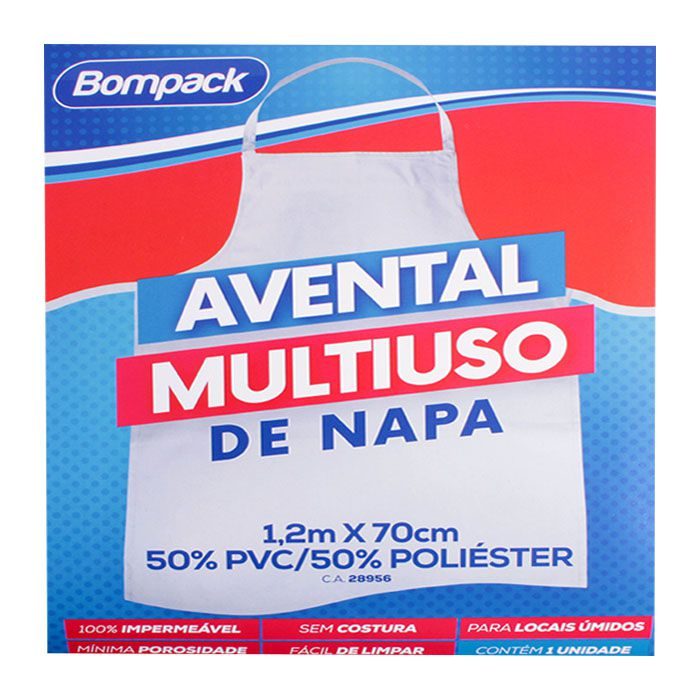 Avental Multiuso De Napa