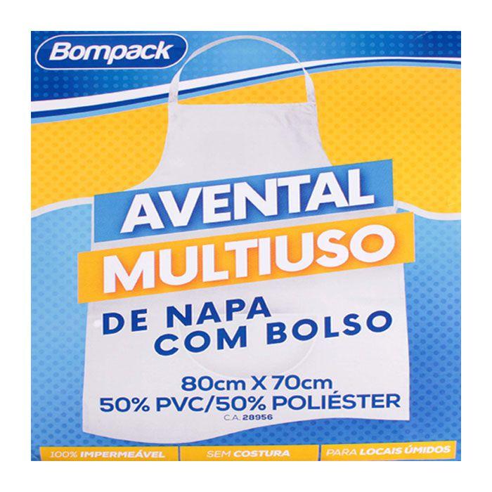 Avental Multiuso De Napa Com Bolso
