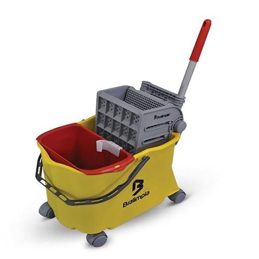 Balde Espremedor Doblô Mop Limpeza Profissional Industrial