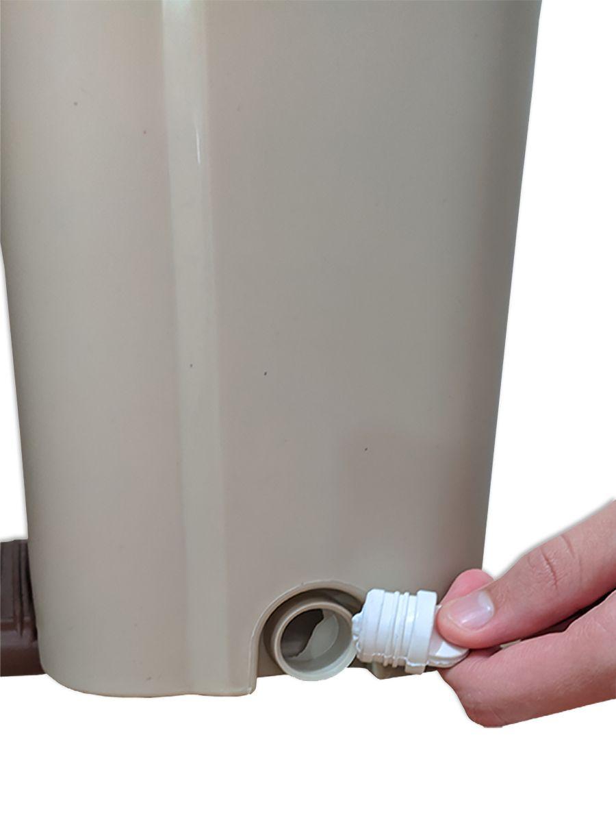 Balde Mop Lava e Seca Tira Pó Gold Esfregão Microfibra Com 3 Refis