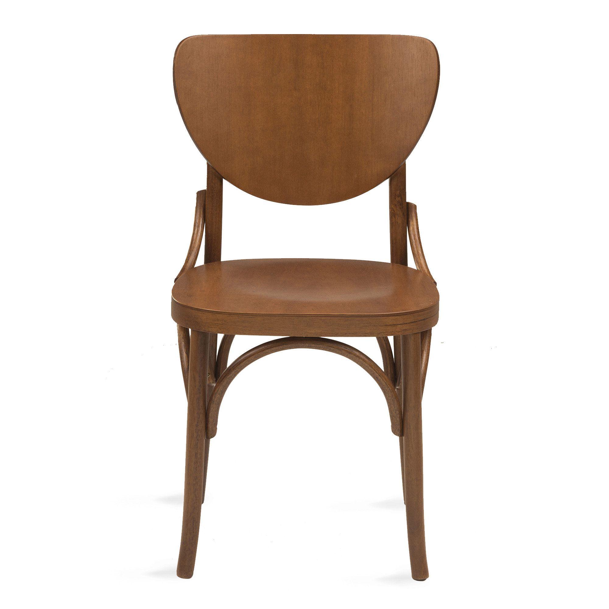 Cadeira Canadá De Madeira Tauri Com Encosto e Assento Anatômico Ergonômico