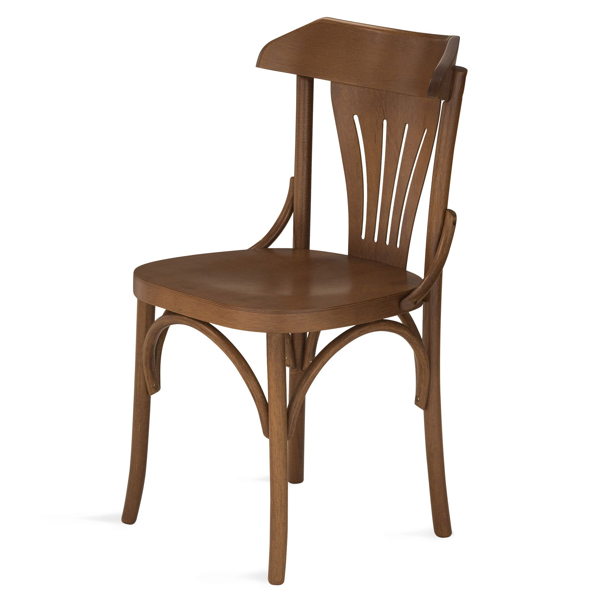 Cadeira Country De Madeira Tauri Com Encosto e Assento Anatômico Ergonômico