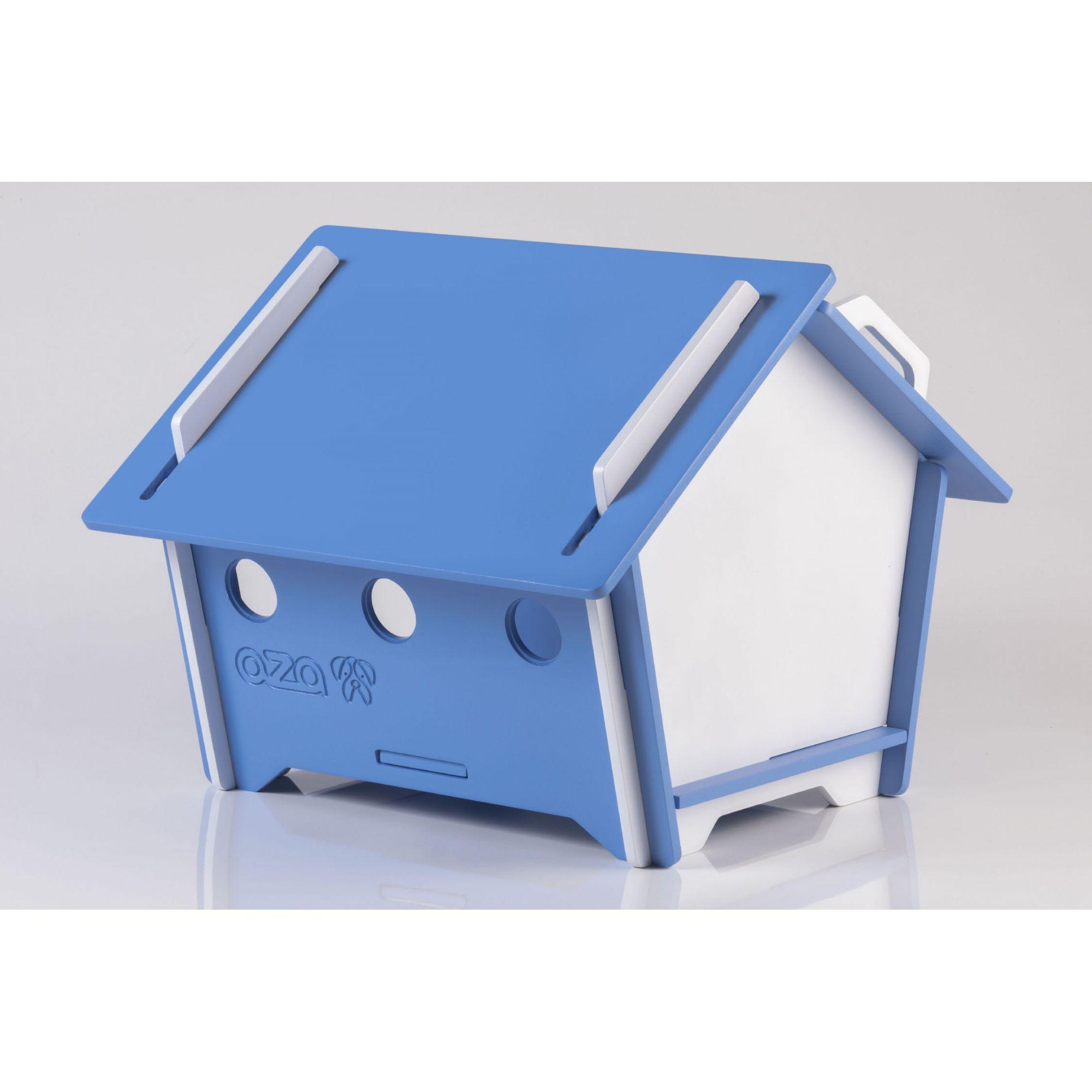 Casa De Cachorro Em Madeira - Tam M Pentagonal