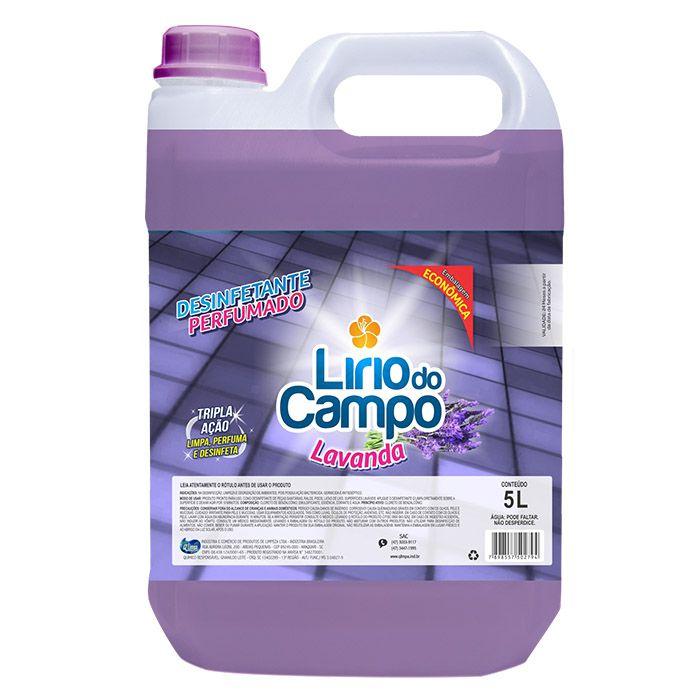 Desinfetante Perfumado 5 Litros LAVANDA