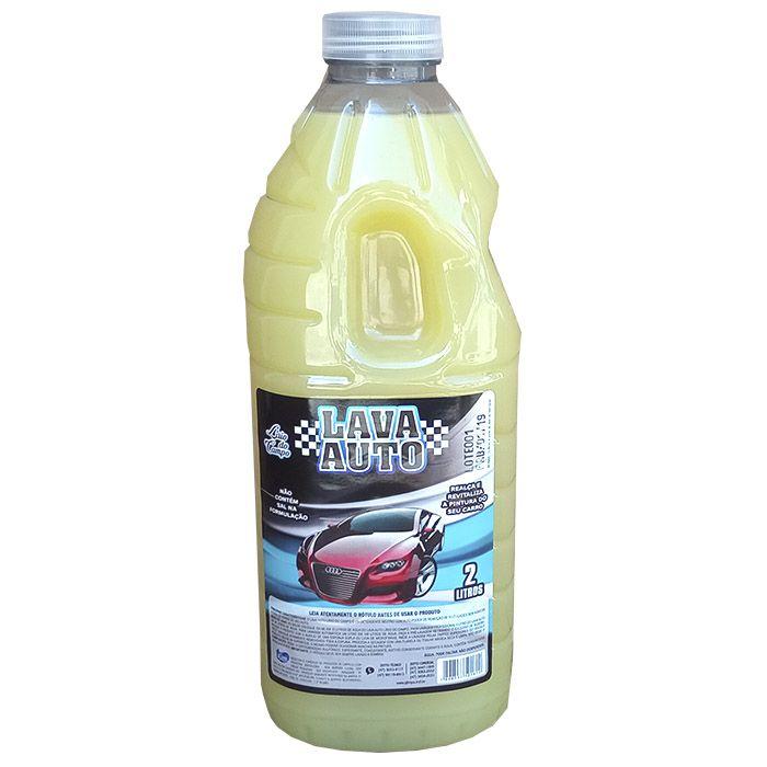 Detergente Automotivo Lava Autos 2 Litros