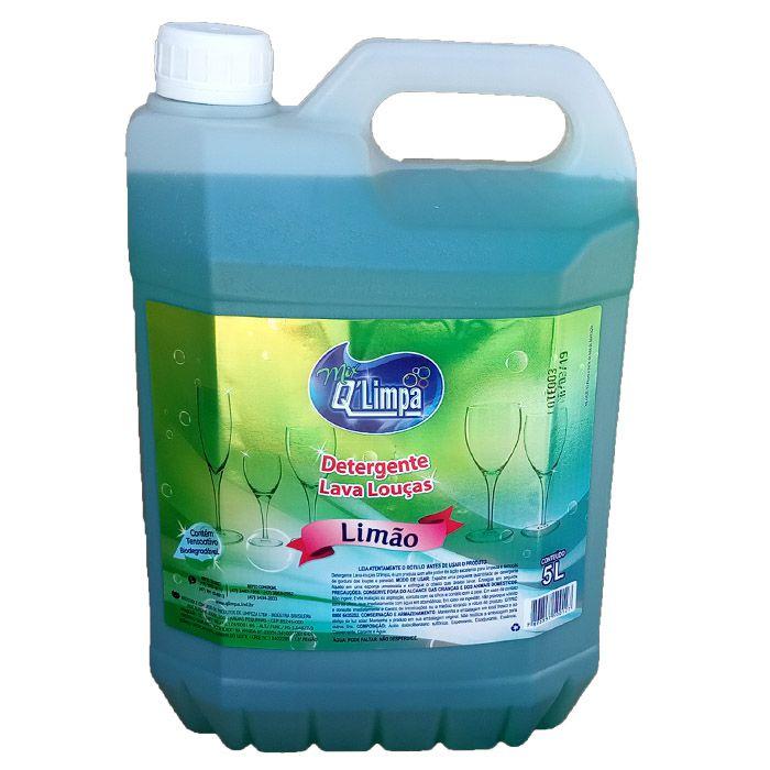 Detergente Lava Louça 5 Litros LIMÃO