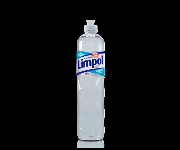 Detergente Limpol Cristal com Glicerina 500ml - Bombril