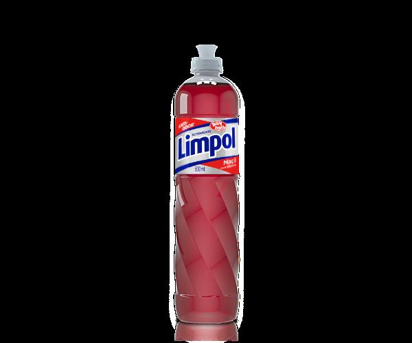 Detergente Limpol Maçã com Glicerina 500ml - Bombril