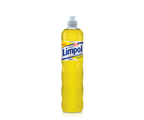 Detergente Limpol Neutro com Glicerina 500ml - Bombril