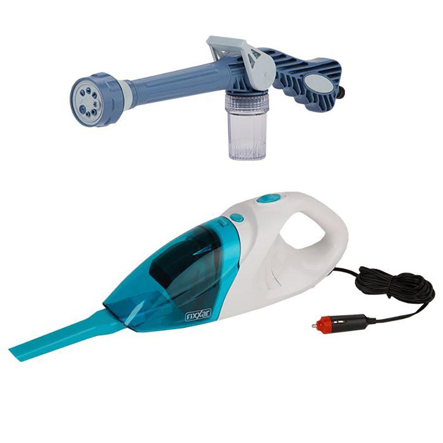 Esguicho multi função 8 spray + aspirador automotivo 90w