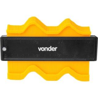 Gabarito Copiador Modelador de Contornos Cantos 14 Cm Vonder