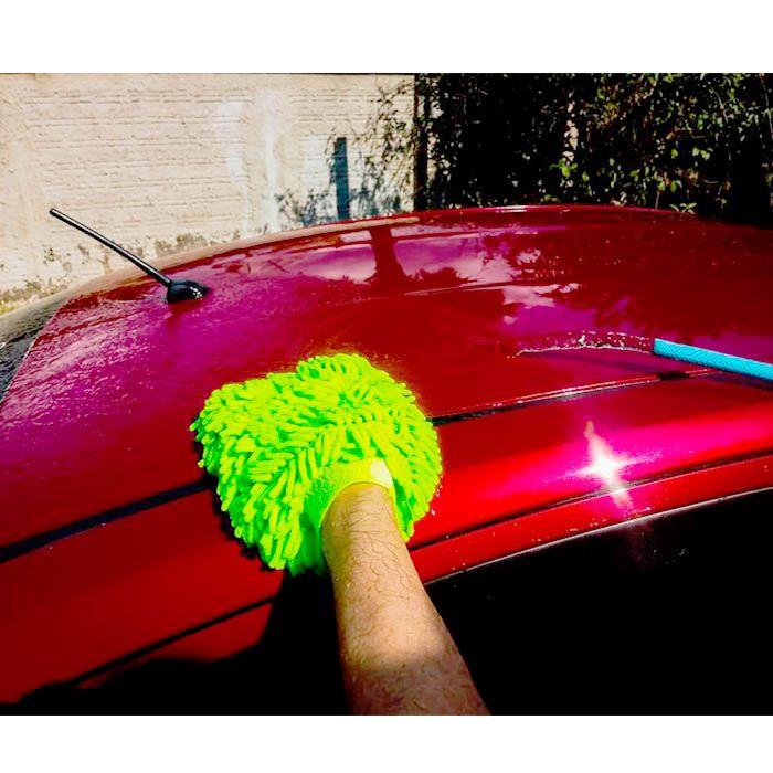 kit 03 luvas automotivas cores sortidas